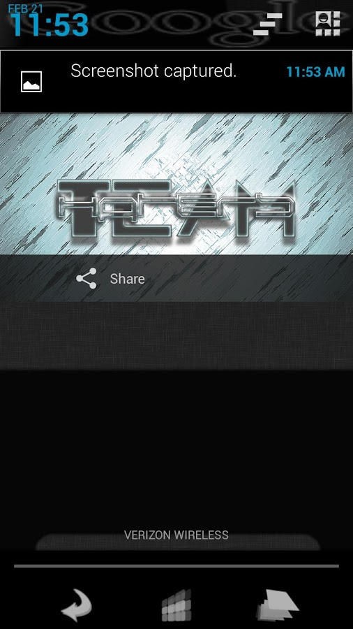 TeamHaters Theme Chooser Theme- screenshot