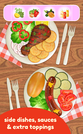BBQ Grill Maker - Cooking Game  screenshots 10