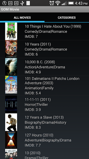 VLC Cinema Android