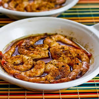 Quick and Easy Spicy Broiled Shrimp.