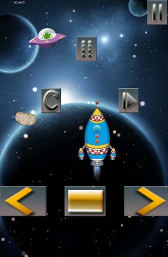 【免費冒險App】Rocket Shooter In Galaxy-Space-APP點子