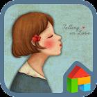 Falling Love(kiss me) Dodol icon