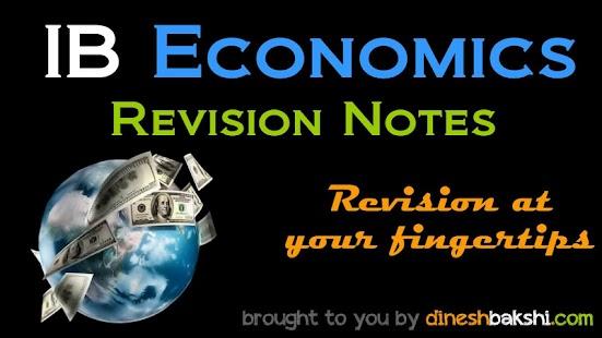 IB Economics - screenshot thumbnail