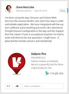 Valarm Pro - screenshot thumbnail