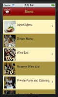 Screenshot of Le Voltaire French Restaurant