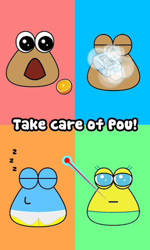 Pou Android App Screenshot