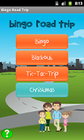 Screenshot of Bingo Road Trip