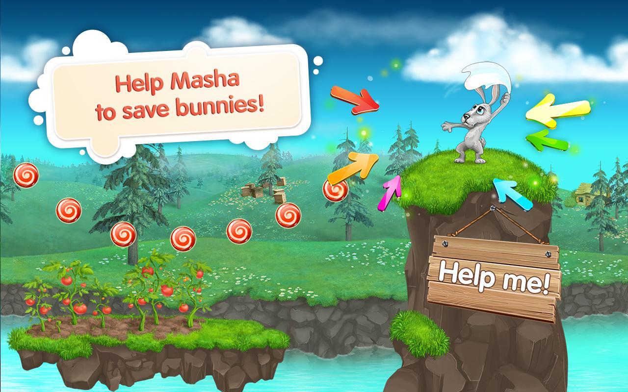 Screenshots of Masha and the Bear for iPhone