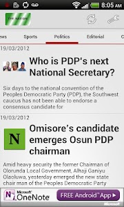 The Nation NewsPaper screenshot 2