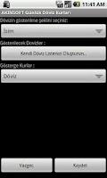 Screenshot of AKINSOFT Günlük Döviz Kurları
