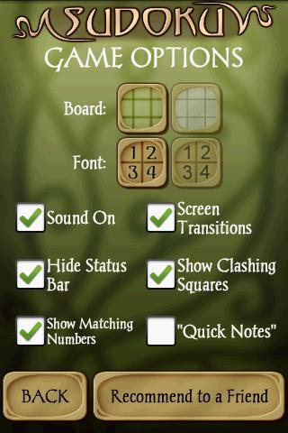 Sudoku Free 1.5 Screenshots 7