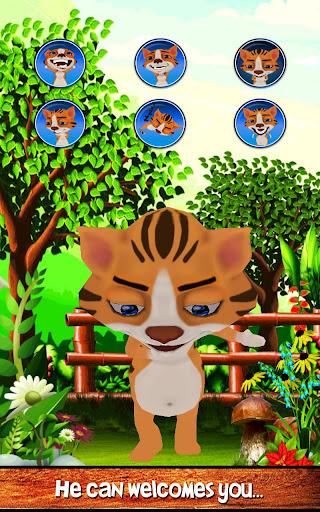 【免費休閒App】會說話的嬰兒虎3D-APP點子