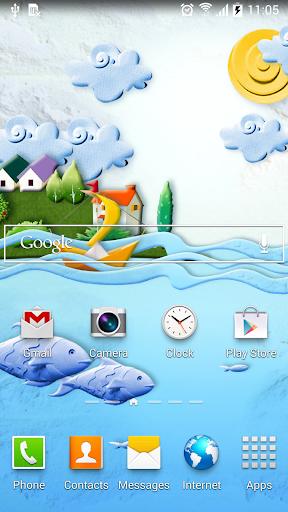 mod Paper World Live Wallpaper 1.0.7 screenshots 3