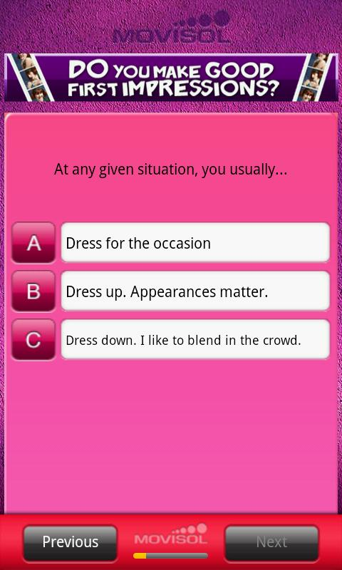 Do you make good first impress- screenshot