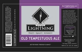 Logo of Lightning Old Tempest Ale