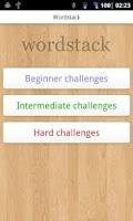Screenshot of Wordstack Free
