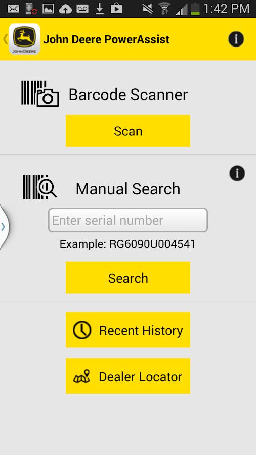 John Deere PowerAssist - screenshot