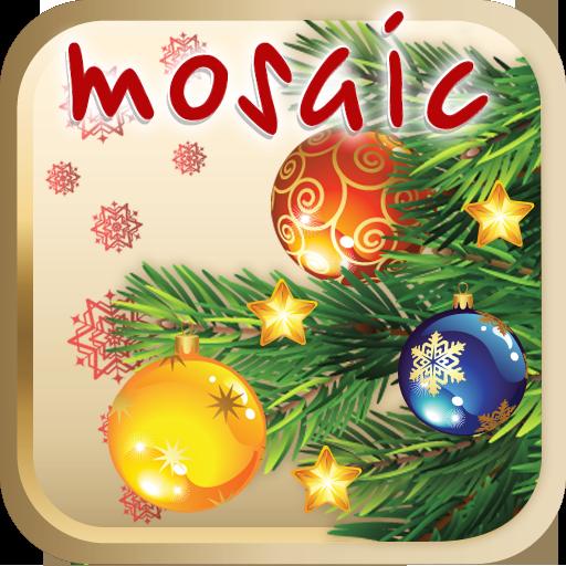 解谜のクリスマスツリーの赤ちゃんモザイク LOGO-記事Game