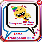 Transparent BBM Theme Android