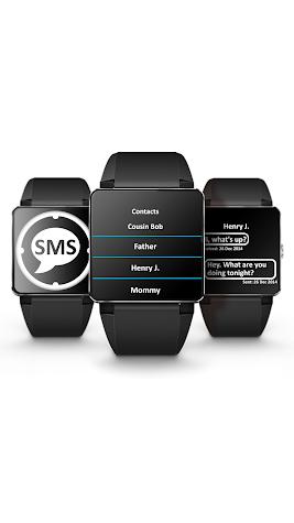 Smart Watch SMS Client Screenshot