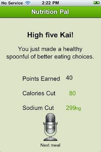 Nutrition Pal - screenshot thumbnail