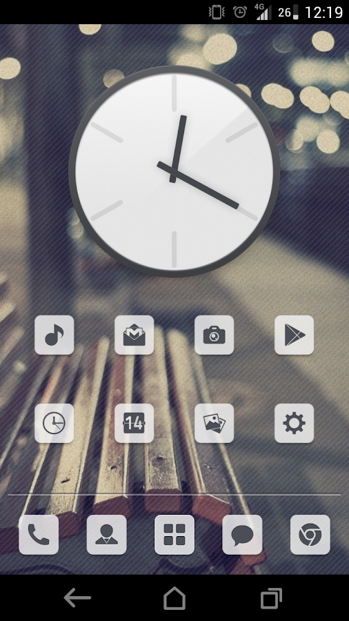 Simplex Theme CM11- screenshot