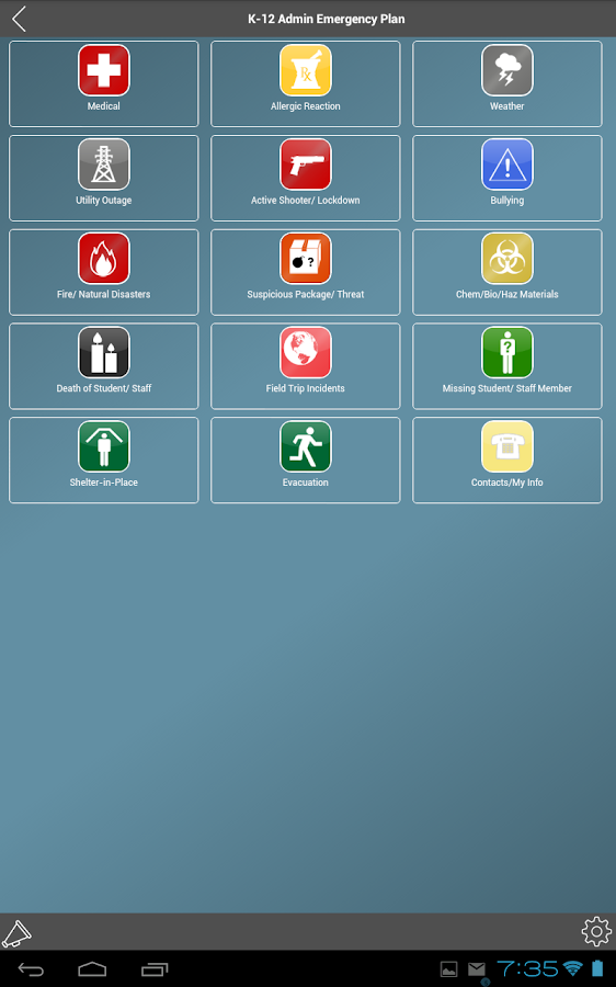 SchoolDude CrisisManager- screenshot