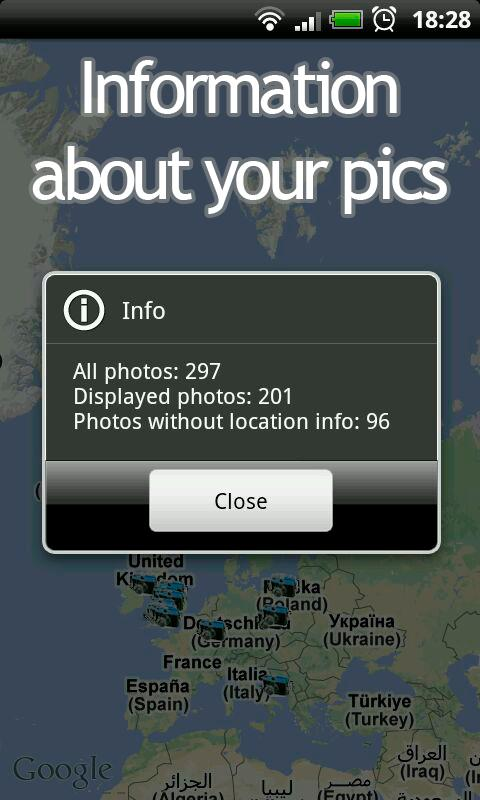 Your Photo Map - screenshot