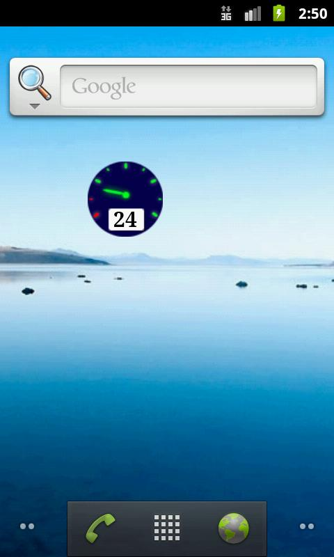 Gauge Battery Widget - screenshot