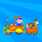 Kids Animal Game-Zoo TrainFULL icon