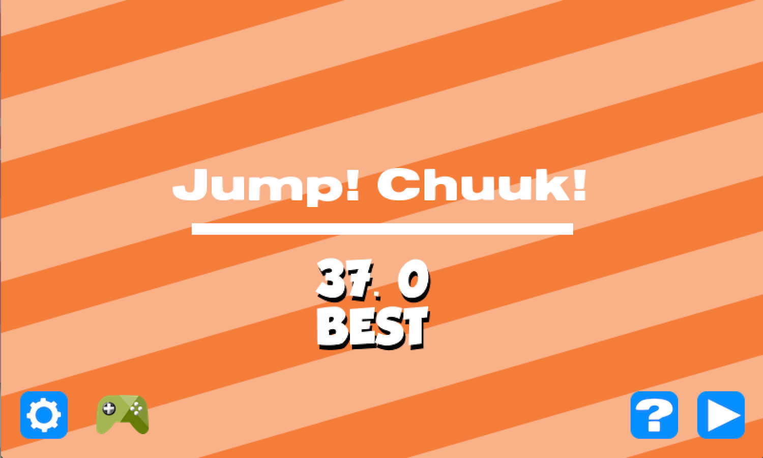 Jump! Chunk!- screenshot