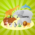 The animal world for toddlers icon