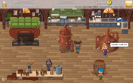 Fiz : Brewery Management Game Screenshot 1