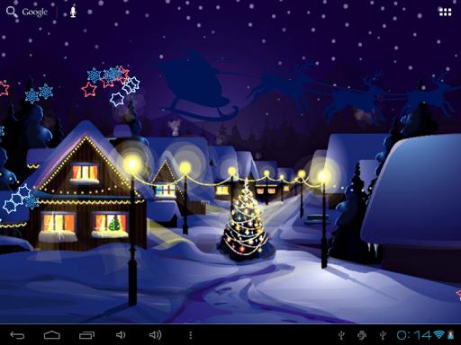 玩免費個人化APP|下載Santa Claus Live Wallpaper app不用錢|硬是要APP