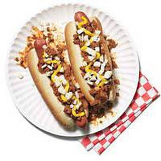 Classic Coney Island Hot Dogs.