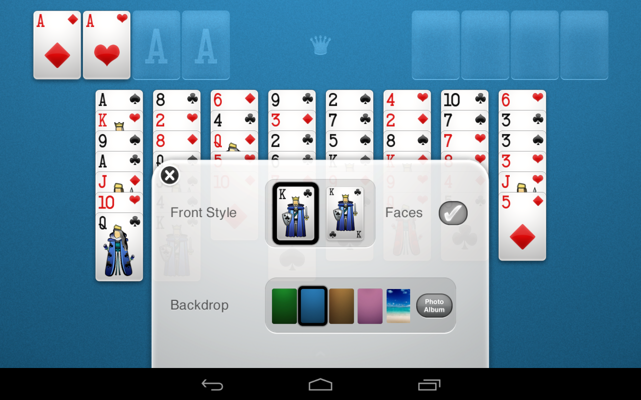 FreeCell Solitaire - screenshot