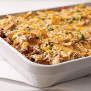 Tex-Mex Beef and Rice Casserole.