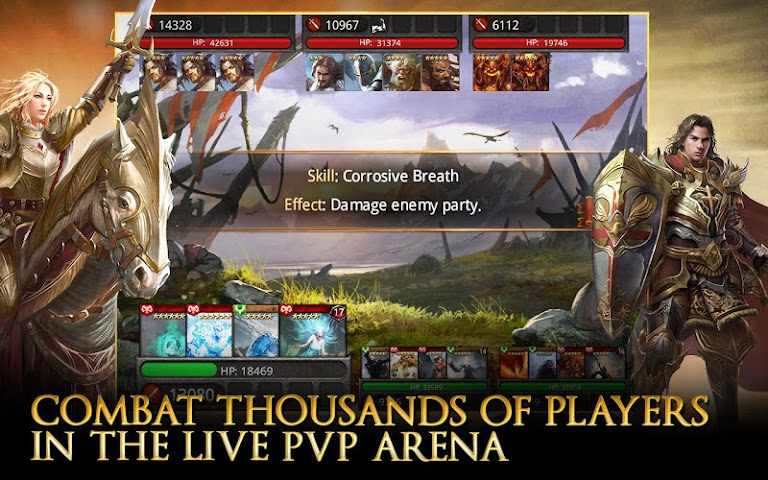 android Heroes of Camelot Screenshot 14