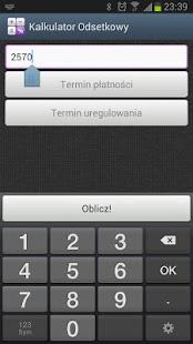 Kalkulator Odsetkowy Screenshot 8