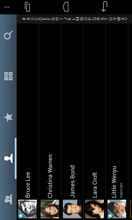 ExDialer SGS3 Theme - screenshot