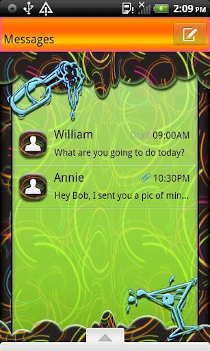 GO SMS THEME NewYearTippsy1
