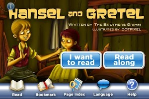 Screenshot of Hansel and Gretel StoryChimes