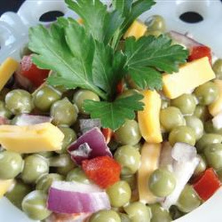 Mom'S Easy Pea Salad Recipe
