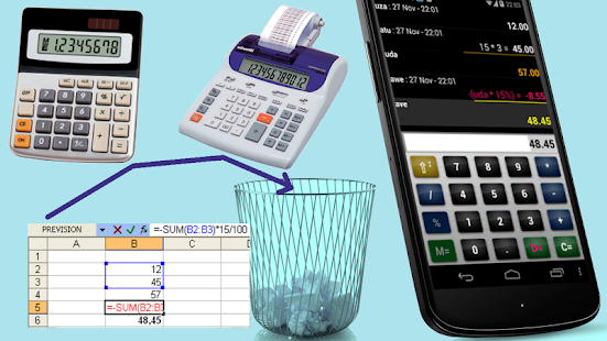 Calculatrice devis commercial Capture d'écran