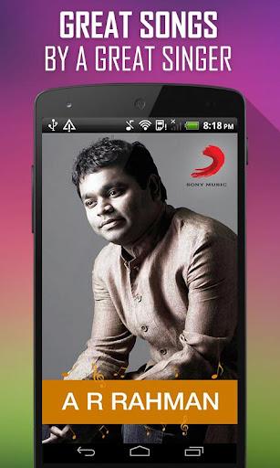 A R Rahman Songs