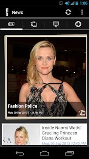 E! Online- screenshot thumbnail