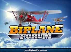 Screenshot of Biplane Forum