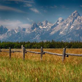 GRANDTETON-5.jpg by Jim Kuhn - Landscapes Prairies, Meadows & Fields