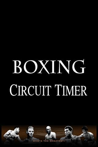 Boxing Circuit Timer - screenshot