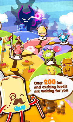 Candy Picnic (Puzzle RPG) - screenshot